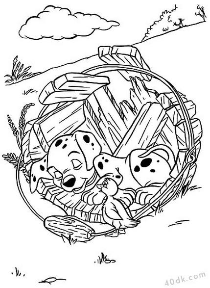 40dk.com 101 dalmaçyalı boyama sayfası (2)