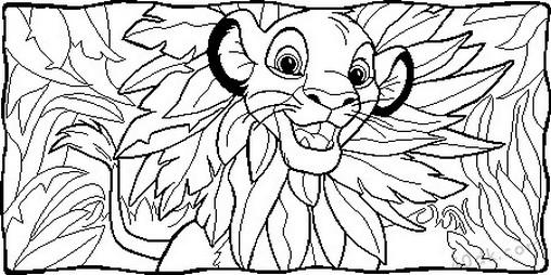 aslan kral boyama sayfası (41)