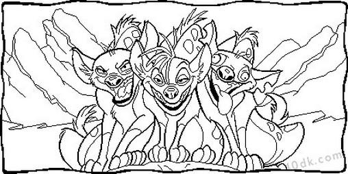 aslan kral boyama sayfası (57)