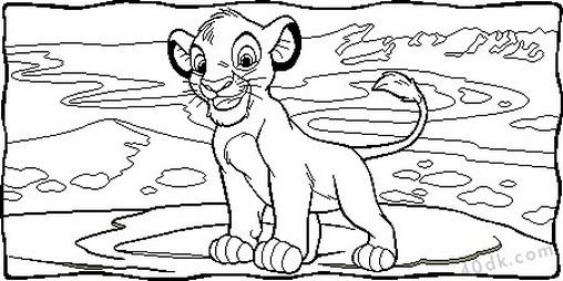 aslan kral boyama sayfası (72)