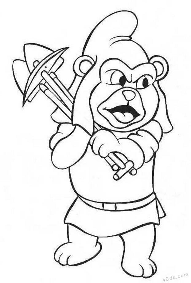 40dk.com  Gummi Bears boyama sayfası (4)