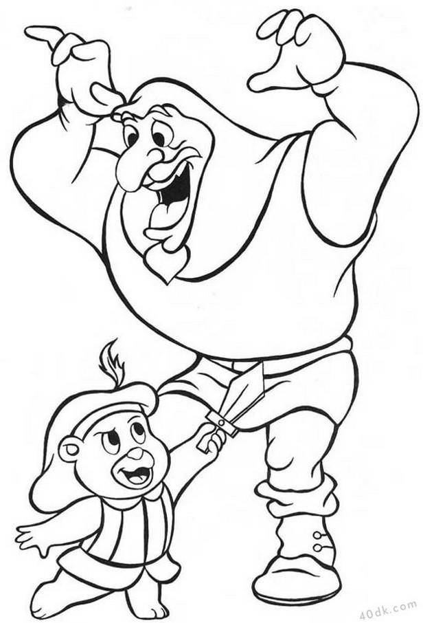 40dk.com  Gummi Bears boyama sayfası (5)