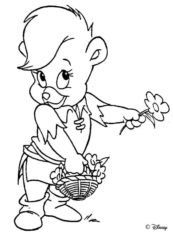 40dk.com  Gummi Bears boyama sayfası (7)