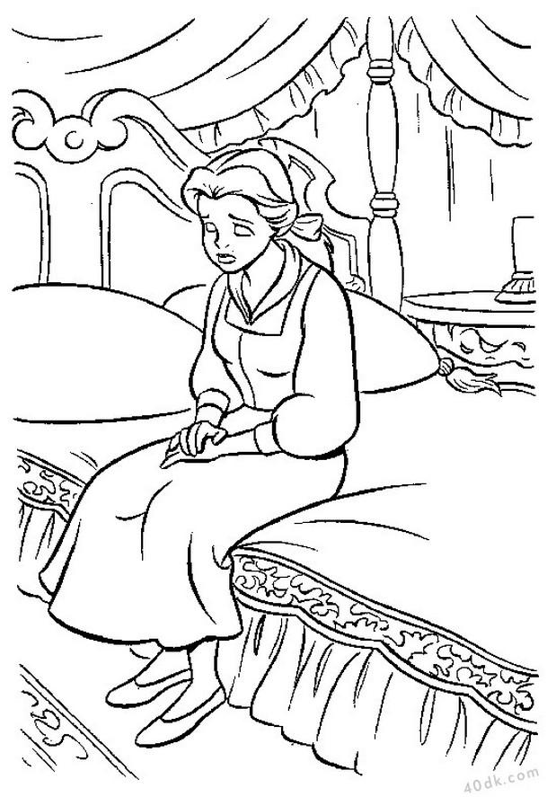 Güzel ve Çirkin boyama sayfası 40dk.com  (20)