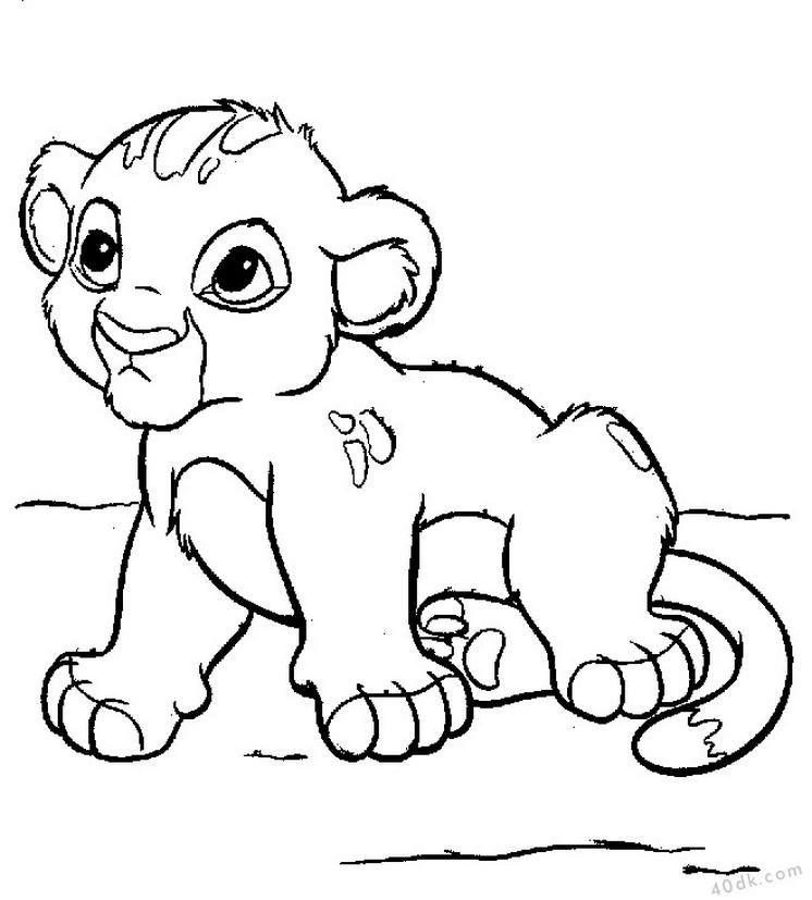 aslan kral boyama sayfası (31)