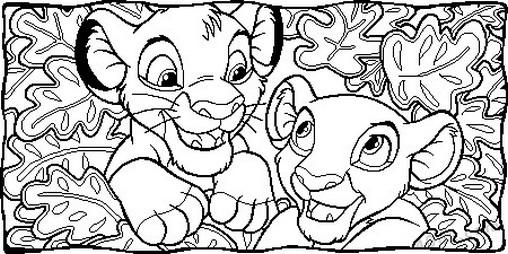 aslan kral boyama sayfası (38)