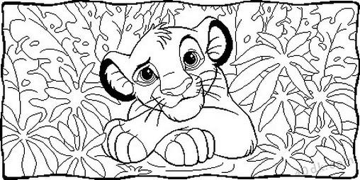 aslan kral boyama sayfası (39)