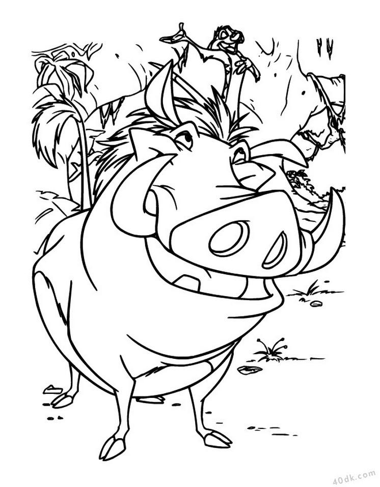 aslan kral boyama sayfası (4)