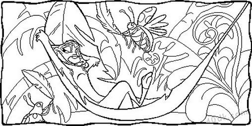 aslan kral boyama sayfası (47)