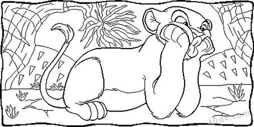 aslan kral boyama sayfası (65)