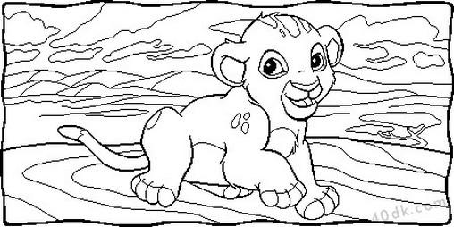 aslan kral boyama sayfası (68)