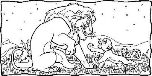 aslan kral boyama sayfası (71)