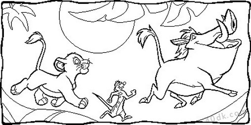 aslan kral boyama sayfası (81)