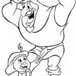 Gummi Bears boyama sayfası (