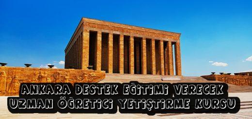 Ankara Destek Eğitim Uzmanı Kursu