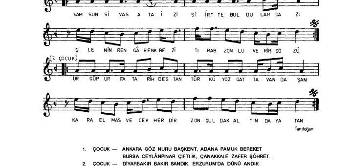 adan zeye türkiyemiz çocuk şarkısı