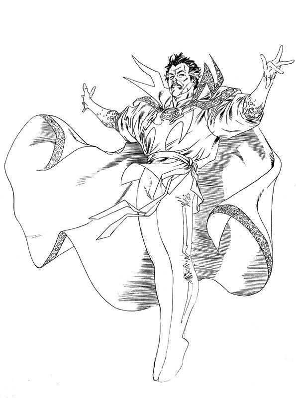 Marvel Avengers Boyama Sayfasi 29 40dk Egitim Bilim Kultur